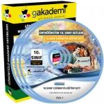 10.Sınıf Coğrafya Görüntülü Eğitim Seti 6 DVD