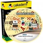 10.Sınıf İngilizce Görüntülü Eğitim Seti 11 DVD