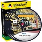10.Sınıf Tarih Görüntülü Eğitim Seti 7 DVD