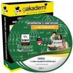 11.Sınıf Geometri Görüntülü Eğitim Seti 5 DVD