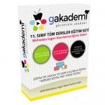 11.Sınıf Tüm Dersler Görüntülü Eğitim Seti 78 DVD