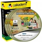 12.Sınıf Coğrafya Görüntülü Eğitim Seti 6 DVD