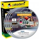 12.Sınıf Fizik Görüntülü Eğitim Seti 5 DVD