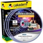 12.Sınıf Mantık Görüntülü Eğitim Seti 5 DVD