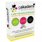 3.Sınıf Tüm Dersler Görüntülü Eğitim Seti 27 DVD
