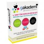 4.Sınıf Tüm Dersler Görüntülü Eğitim Seti 33 DVD