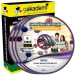 9.Sınıf Biyoloji Görüntülü Eğitim Seti 5 DVD