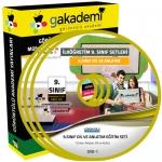 9.Sınıf Dil ve Anlatım Görüntülü Eğitim Seti 10 DVD