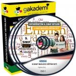 9.Sınıf İngilizce Görüntülü Eğitim Seti 12 DVD