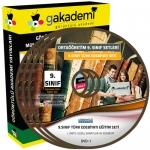 9.Sınıf Türk Edebiyatı Görüntülü Eğitim Seti 4 DVD