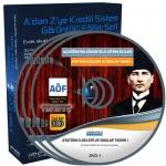 AÖF Atatürk İlkeleri ve İnkılap Tarihi 1 Eğitim Seti 9 DVD