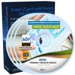 AÖF Finansal Tablolar Analizi Eğitim Seti 9 DVD
