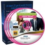AÖF Finansal Yönetim 1 Eğitim Seti 9 DVD