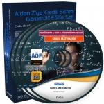 AÖF Genel Matematik Eğitim Seti 8 DVD