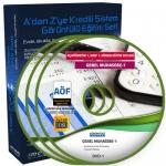 AÖF Genel Muhasebe 1 Eğitim Seti 5 DVD