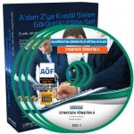 AÖF Stratejik Yönetim 2 Eğitim Seti 5 DVD
