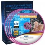 AÖF Temel Bilgi Teknolojileri 1 Eğitim Seti 8 DVD