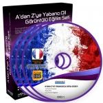 Fransızca Orta Düzey Görüntülü Eğitim Seti 11 DVD