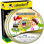 İlköğretim 2.Sınıf Hayat Bilgisi Görüntülü Eğitim Seti 3 DVD