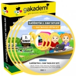 İlköğretim 2.Sınıf İngilizce Görüntülü Eğitim Seti 1 DVD