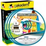İlköğretim 2.Sınıf Türkçe Görüntülü Eğitim Seti 8 DVD