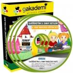 İlköğretim 3.Sınıf İngilizce Görüntülü Eğitim Seti 2 DVD
