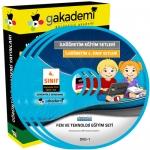 İlköğretim 4.Sınıf Fen ve Teknoloji Görüntülü Eğitim Seti 6 DVD