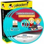 İlköğretim 4.Sınıf Sosyal Bilgiler Görüntülü Eğitim Seti 6 DVD