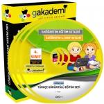 İlköğretim 4.Sınıf Türkçe Görüntülü Eğitim Seti 8 DVD