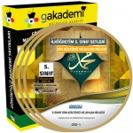 İlköğretim 5.Sınıf Din Kültürü ve Ahlak Bilgisi Eğitim Seti 4 DVD