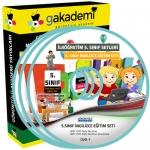 İlköğretim 5.Sınıf İngilizce Görüntülü Eğitim Seti 8 DVD
