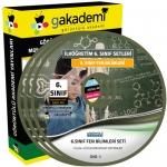 İlköğretim 6.Sınıf Fen ve Teknoloji Görüntülü Eğitim Seti 7 DVD