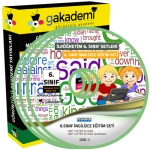 İlköğretim 6.Sınıf İngilizce Görüntülü Eğitim Seti 7 DVD