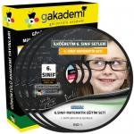 İlköğretim 6.Sınıf Matematik Görüntülü Eğitim Seti 5 DVD