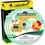 İlköğretim 7.Sınıf Sosyal Bilgiler Görüntülü Eğitim Seti 7 DVD