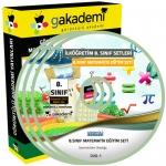İlköğretim 8.Sınıf Matematik Görüntülü Eğitim Seti 8 DVD