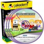 İlköğretim 8.Sınıf T.C İnkılap Tarihi ve Atatürkçülük Eğitim Seti 14 DVD