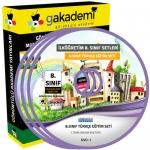 İlköğretim 8.Sınıf Türkçe Görüntülü Eğitim Seti 8 DVD