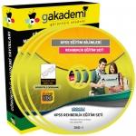 KPSS Eğitim Bilimleri Rehberlik Eğitim Seti 7 DVD
