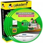 KPSS Öğretim Yöntem ve Teknikleri Eğitim Seti 9 DVD