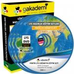 LYS Coğrafya Çözümlü Soru Bankası Eğitim Seti 10 DVD