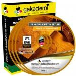 LYS Edebiyat Çözümlü Soru Bankası Eğitim Seti 11 DVD