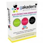 Pratik ALES Çözümlü Soru Bankası Görüntülü Eğitim Seti 60 DVD + Rehberlik DVD
