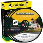 Pratik ALES Geometri Çözümlü Soru Bankası Eğitim Seti 16 DVD