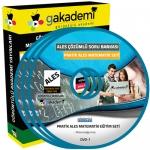 Pratik ALES Matematik Çözümlü Soru Bankası Eğitim Seti 25 DVD