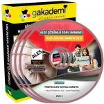 Pratik ALES Sayısal Mantık Çözümlü Soru Bankası Seti 6 DVD