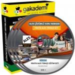 Pratik ALES Türkçe Çözümlü Soru Bankası Eğitim Seti 6 DVD