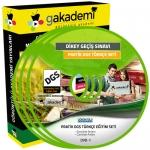 Pratik DGS Türkçe Çözümlü Soru Bankası 6 DVD