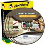 SMMM Staja Başlama Maliye Çözümlü Soru Bankası Eğitim Seti 2 DVD