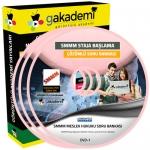 SMMM Staja Başlama Meslek Hukuku Çözümlü Soru Bankası Eğitim Seti 1 DVD